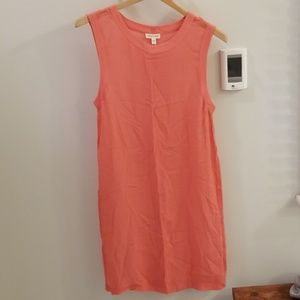 Urban Outfitter's coral tunic
